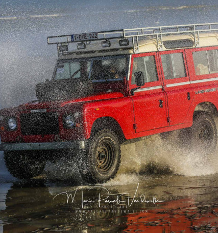 land rover  defender fun