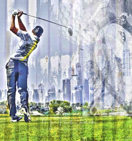 golf photo art sergio garcia