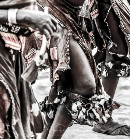 BULL jump festival at Hamer tribe in Ethiopia