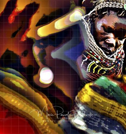 ethnic photo art