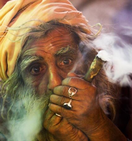Maga kumbh mela festival in Allahabad India