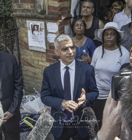 reportage FIRE GRENFELL Tower London