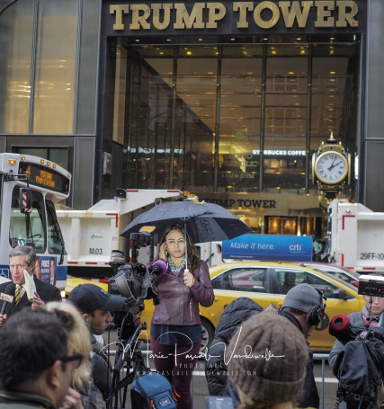 protest election Donald Trump New York