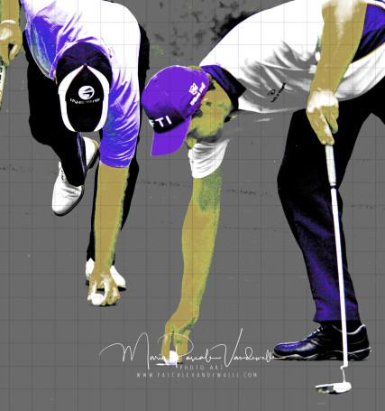 golf photo art