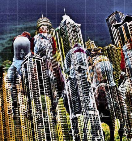 world city photo art