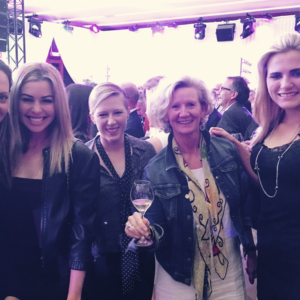 birthdaydrink with LPGA superstars