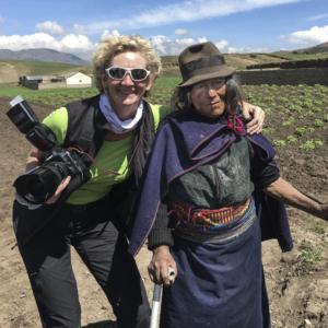 reportage quinoa farmers in Ecuador,