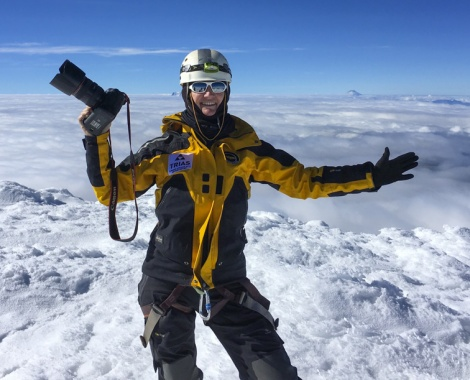 summit CAYAMBE 5795m