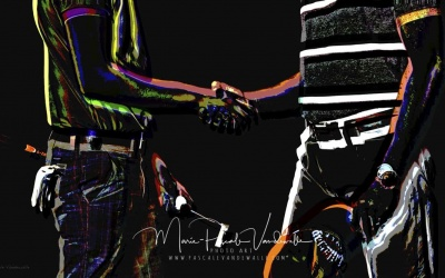 CUSTOMIZED PHOTO ART © marie pascale vandewalle FATHER AND SON lowres-min-min